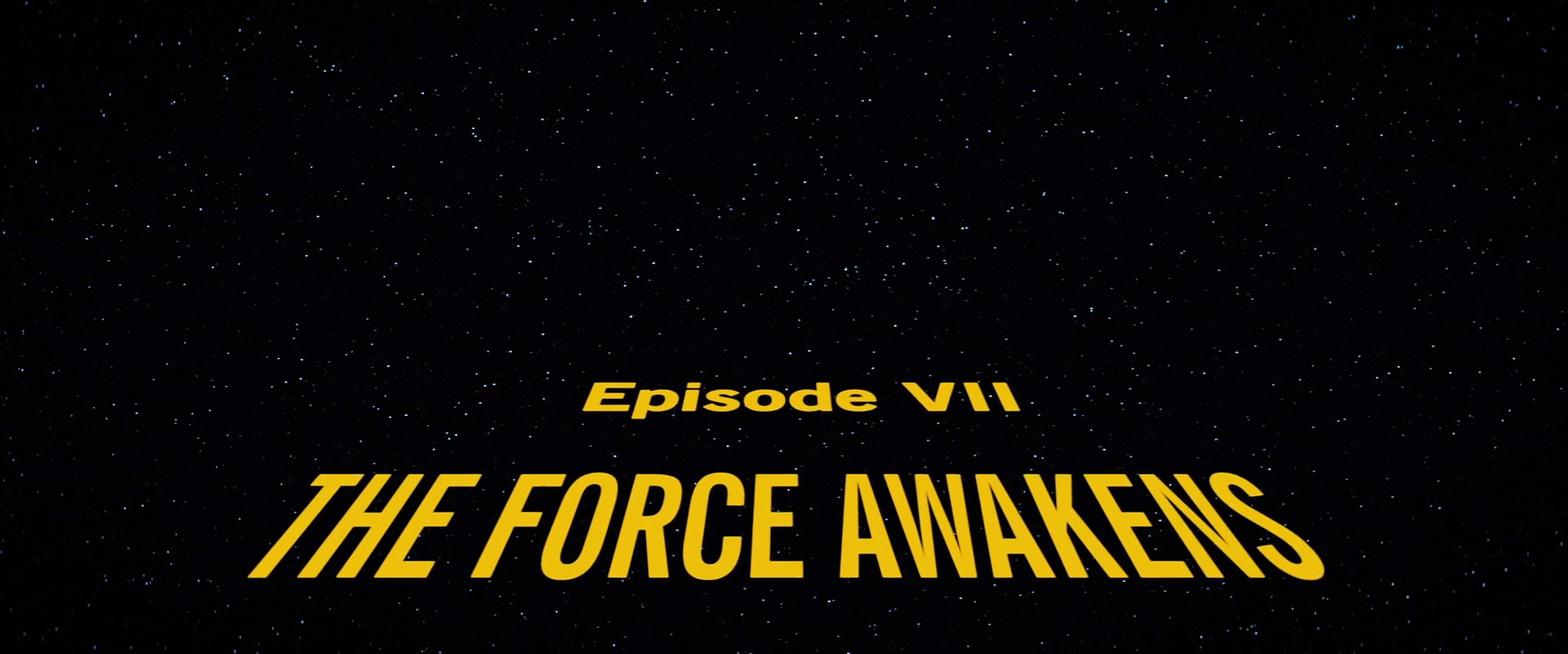 Star Wars: Episode VII U2013 The Force Awakens (2015)